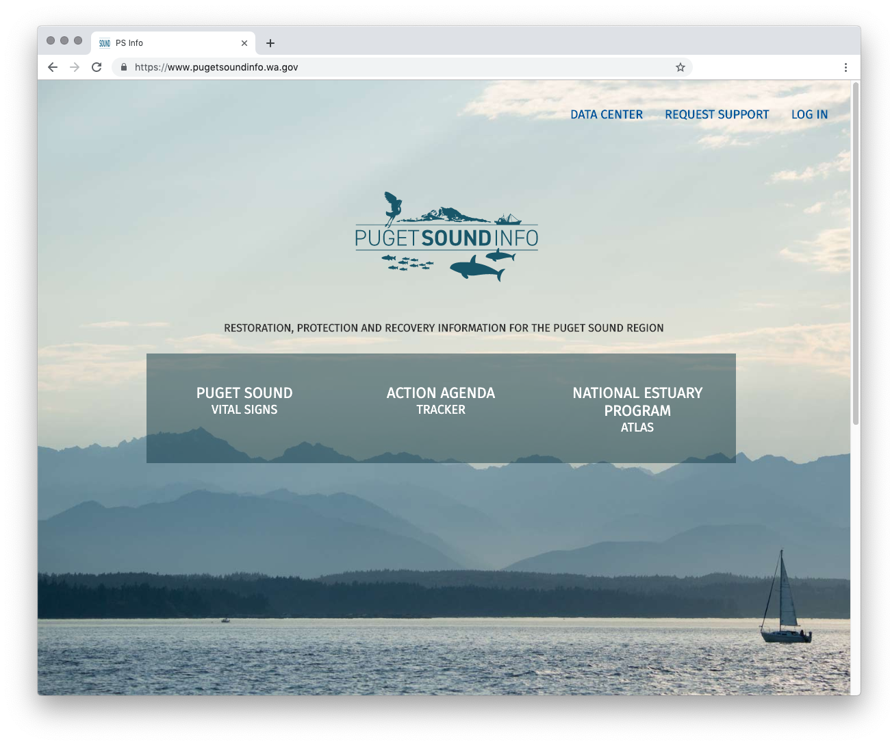 Puget Sound Info Home Page