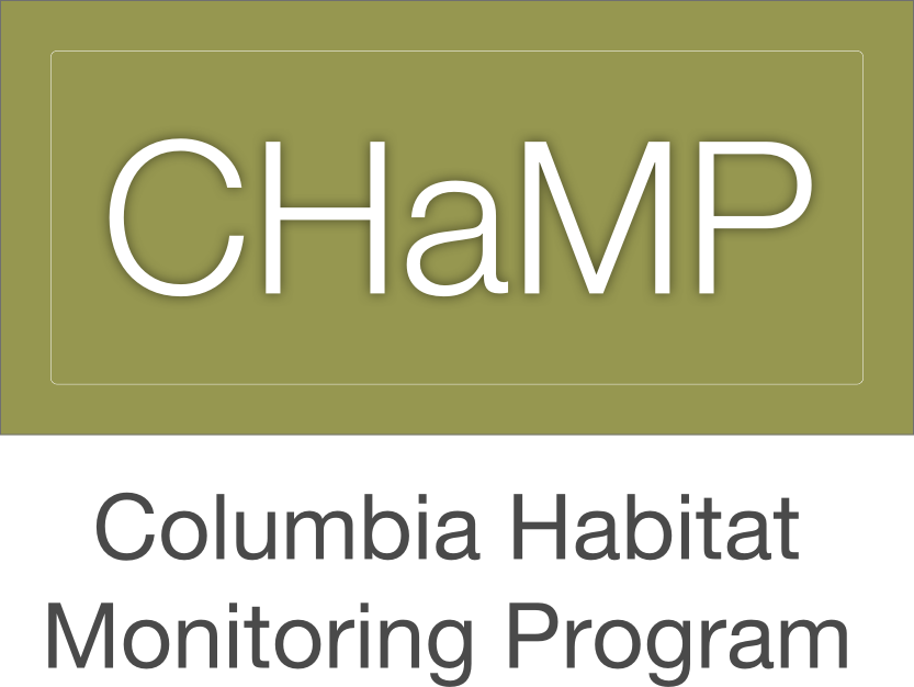 Columbia Habitat Monitoring Program